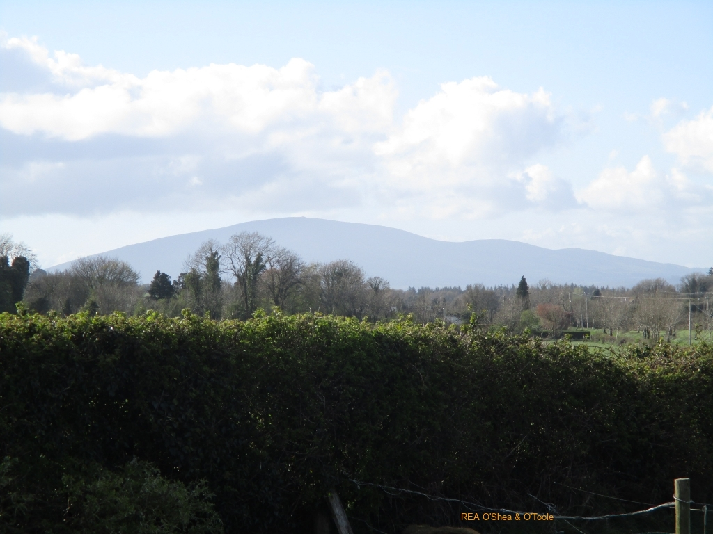 Lovely views of the Comeragh Mountains